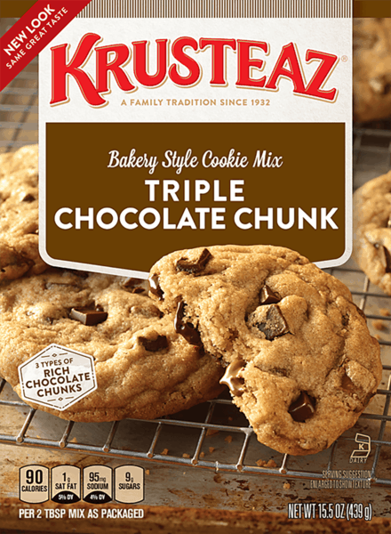 $0.75 for Krusteaz® Cookie Mix (expiring on Monday, 10/09/2017). Offer available at multiple stores.
