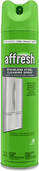 $1.00 for affresh® Stainless Steel Cleaning Spray (expiring on Tuesday, 01/08/2019). Offer available at Fry's, Home Depot.