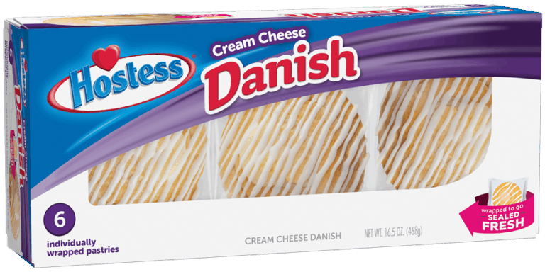 $0.75 for Hostess® Cream Cheese Danish (expiring on Wednesday, 04/01/2020). Offer available at multiple stores.