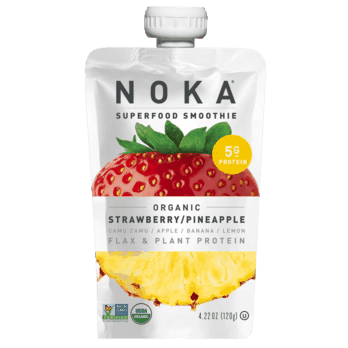 $0.50 for NOKA Organic Smoothie (expiring on Sunday, 01/31/2021). Offer available at Walmart, Walmart Grocery.