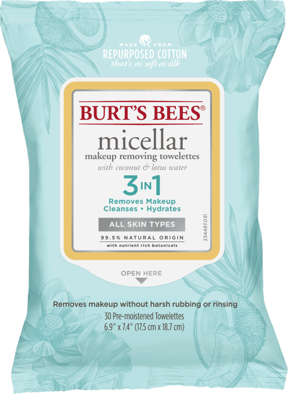$1.00 for Burt's Bees® Facial Cleansing Towelettes (expiring on Thursday, 02/06/2020). Offer available at Walmart.