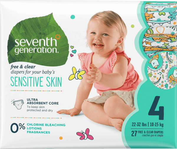 $2.00 for Seventh Generation™ Diapers (expiring on Wednesday, 08/01/2018). Offer available at multiple stores.