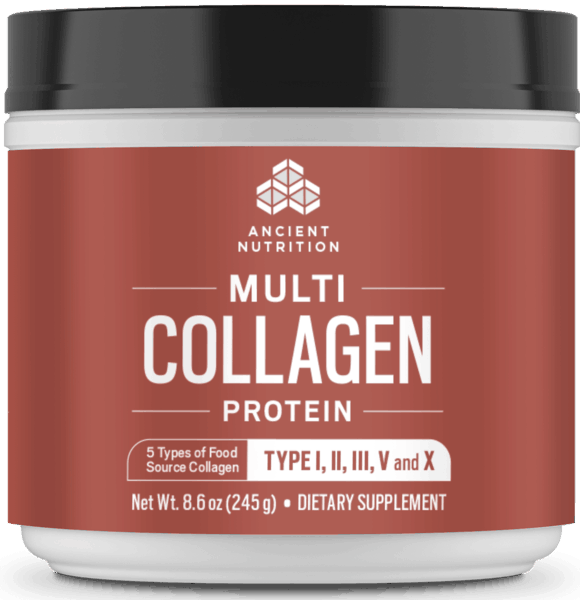$5.00 for Ancient Nutrition™ Multi Collagen Protein (expiring on Friday, 08/23/2019). Offer available at Target.