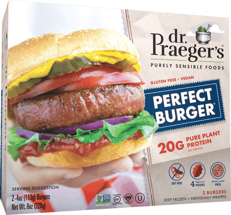 $0.50 for Dr. Praeger's Perfect Burgers (expiring on Friday, 10/15/2021). Offer available at multiple stores.