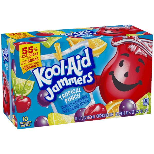 $0.25 for Kool-Aid Jammers (expiring on Tuesday, 04/02/2019). Offer available at multiple stores.