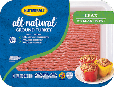$0.40 for Butterball Ground Turkey (expiring on Monday, 12/21/2020). Offer available at multiple stores.