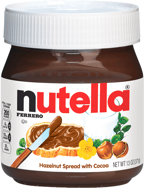 $1.00 for Nutella® Hazelnut Spread (expiring on Tuesday, 01/01/2019). Offer available at multiple stores.