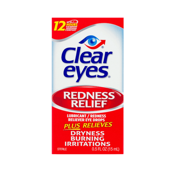 $0.50 for Clear Eyes® Eye Drops (expiring on Monday, 11/19/2018). Offer available at multiple stores.