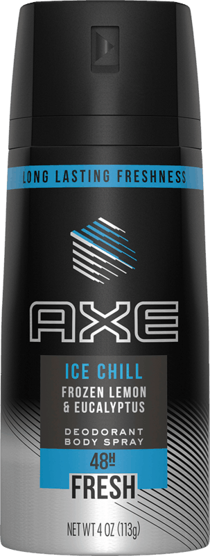 $1.00 for AXE Deodorant Body Spray. Offer available at multiple stores.
