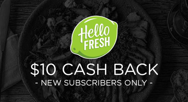 $10.00 for HelloFresh. Offer available at HelloFresh.