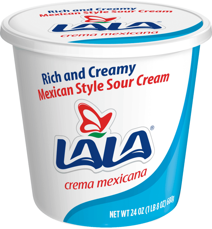 $0.75 for LALA Crema Mexicana (expiring on Sunday, 08/02/2020). Offer available at Walmart, H-E-B.