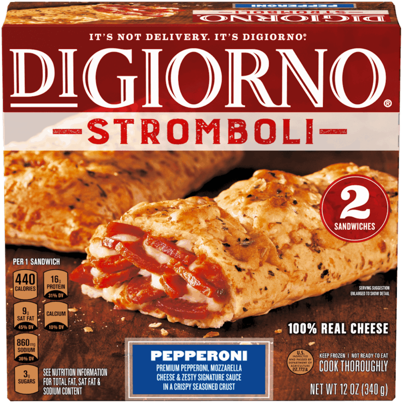 $1.00 for DiGiorno Stromboli (expiring on Sunday, 08/02/2020). Offer available at Walmart, Hy-Vee.