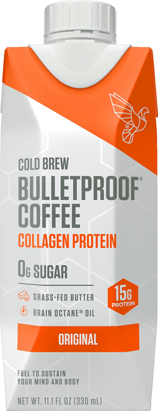 $1.00 for Bulletproof Coffee Cold Brew with Collagen (expiring on Saturday, 04/11/2020). Offer available at Walmart, Walmart Grocery.