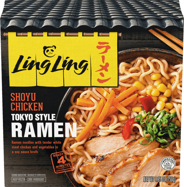 $1.00 for Ling Ling® Ramen. Offer available at Walmart.