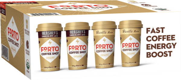 $5.00 for Forto® Coffee Shots (expiring on Monday, 12/31/2018). Offer available at Costco.