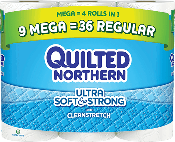 $0.25 for Quilted Northern Ultra Soft & Strong® (expiring on Sunday, 12/31/2017). Offer available at Walmart.