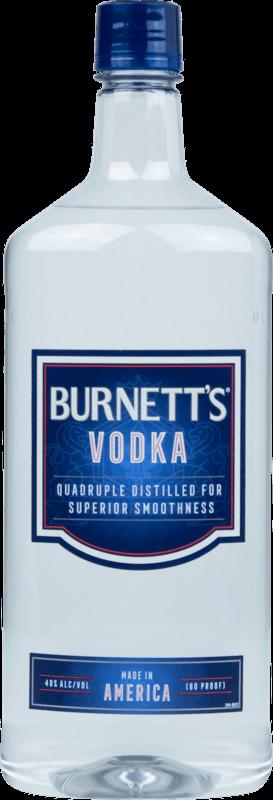 $2.00 for Burnett's® Vodka. Offer available at multiple stores.