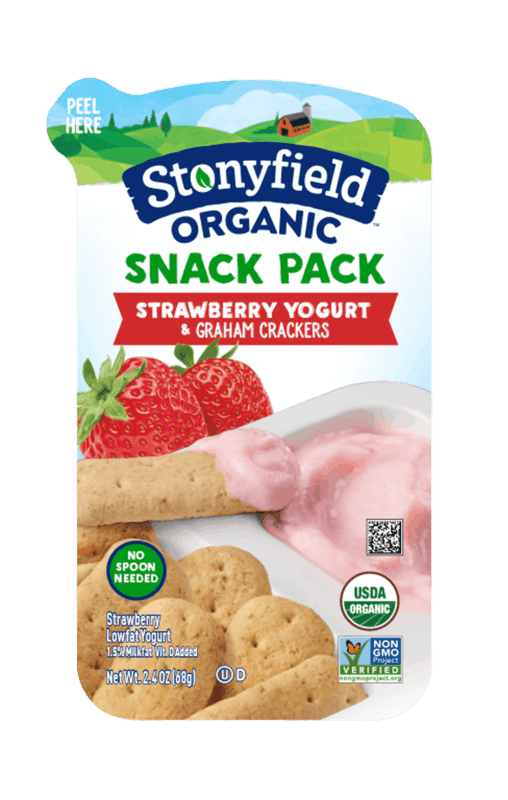 $0.50 for Stonyfield® Snack Pack (expiring on Wednesday, 03/27/2019). Offer available at multiple stores.