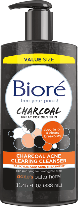 $1.00 for Biore Charcoal Acne Clearing Facial Cleanser or Scrub, or Biore Acne Clarifying Witch Hazel Cleanser or Toner (expiring on Saturday, 08/07/2021). Offer available at Walmart, Walmart Pickup & Delivery.
