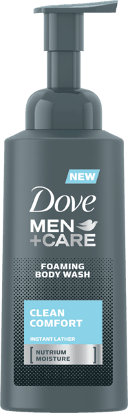 $1.50 for Dove Men+Care Foaming Body Wash (expiring on Sunday, 04/08/2018). Offer available at Walmart.