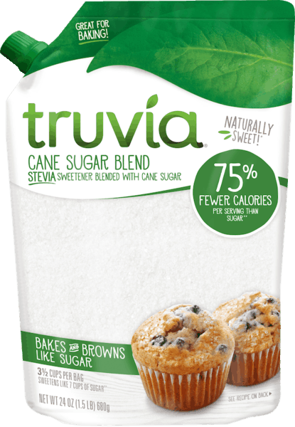 $1.35 for Truvia® Sugar Blends. Offer available at multiple stores.