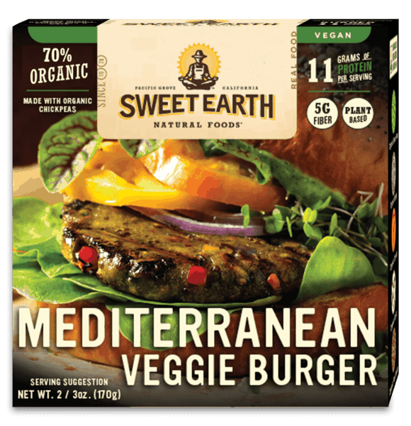 $0.75 for Sweet Earth Foods Veggie Burgers (expiring on Thursday, 05/02/2019). Offer available at Target, Walmart, Kroger, Whole Foods Market®.