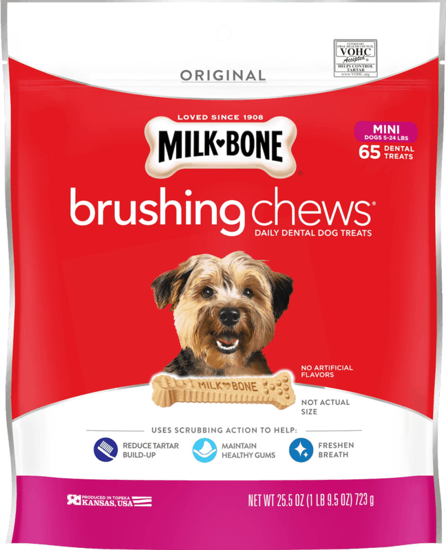 $0.50 for Milk-Bone Brushing Chews or Chewy Treats (expiring on Thursday, 07/02/2020). Offer available at multiple stores.