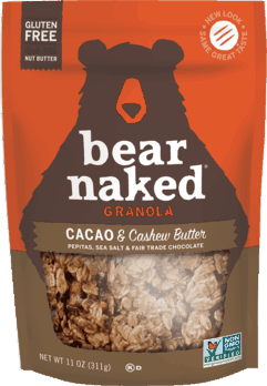 $0.50 for Bear Naked® Granola & Granola Snacks (expiring on Monday, 09/02/2019). Offer available at Walmart.
