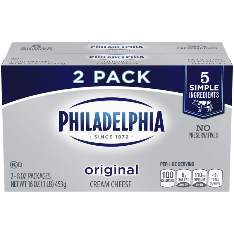 $1.00 for PHILADELPHIA Original Cream Cheese (expiring on Thursday, 01/02/2020). Offer available at multiple stores.