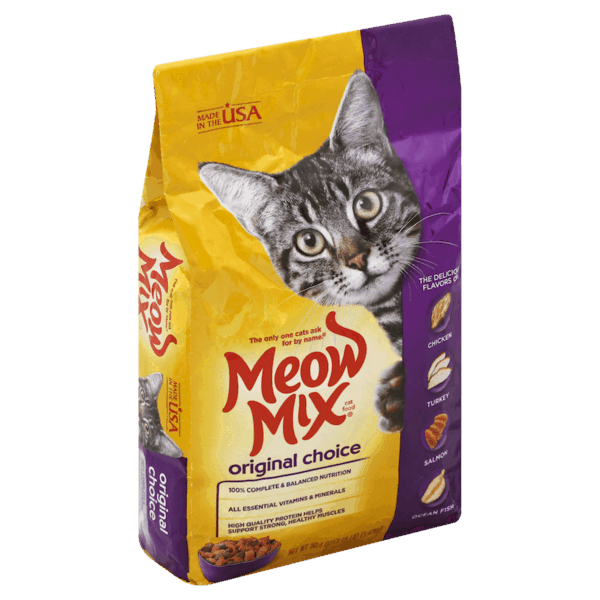 $0.75 for Meow Mix® Dry Cat Food (expiring on Tuesday, 03/05/2019). Offer available at Food Lion.