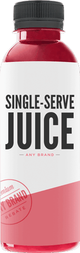 $0.25 for Single Serve Juice - Any Brand (expiring on Friday, 03/02/2018). Offer available at multiple stores.