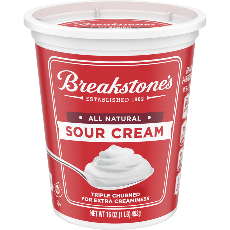 $0.50 for Breakstone's Sour Cream (expiring on Friday, 04/30/2021). Offer available at multiple stores.