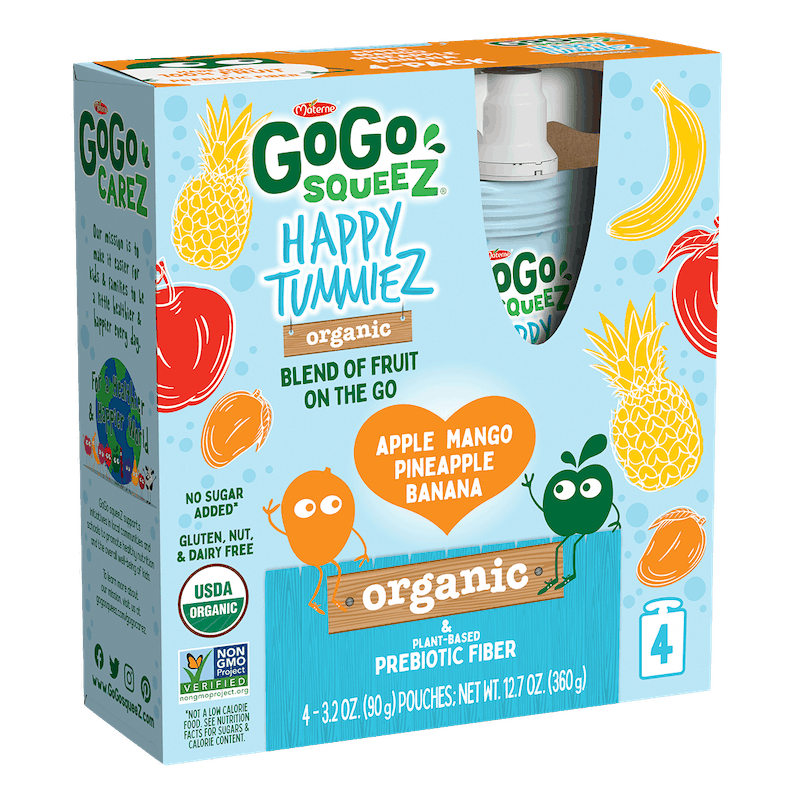 $1.00 for GoGo squeeZ® happy tummieZ (expiring on Wednesday, 12/23/2020). Offer available at multiple stores.