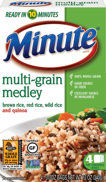 $1.00 for Minute® Rice Multi-Grain Medley. Offer available at multiple stores.