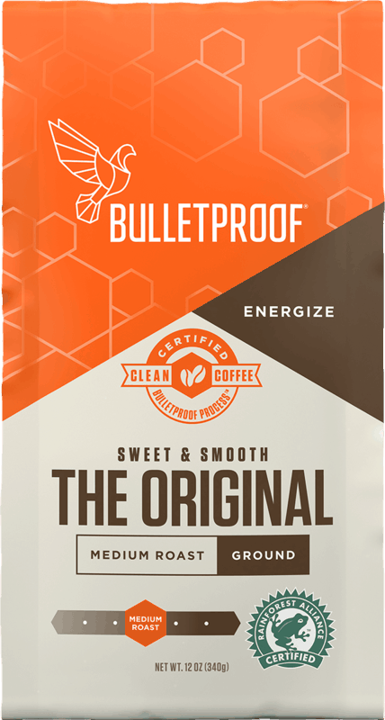 $5.00 for Bulletproof Packaged Coffee. Offer available at Target, Target Online.