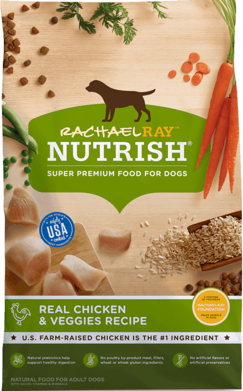 $1.50 for Rachael Ray™ Nutrish® Dry Dog Food. Offer available at multiple stores.
