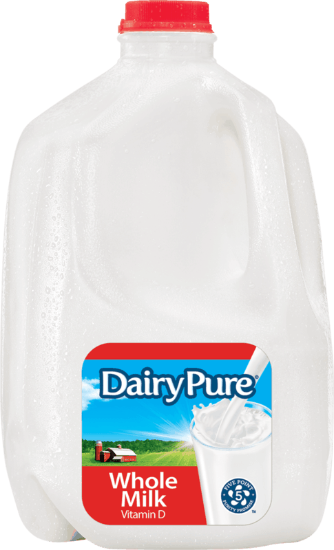$0.75 for DairyPure® Milk (expiring on Monday, 12/02/2019). Offer available at Walmart.