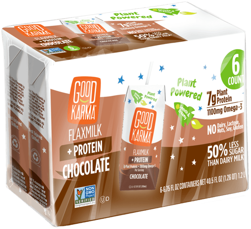 $1.50 for Good Karma Shelf-Stable Flaxmilk + Protein Lunchbox (expiring on Wednesday, 05/01/2019). Offer available at H-E-B, Natural Grocers, Albertsons.