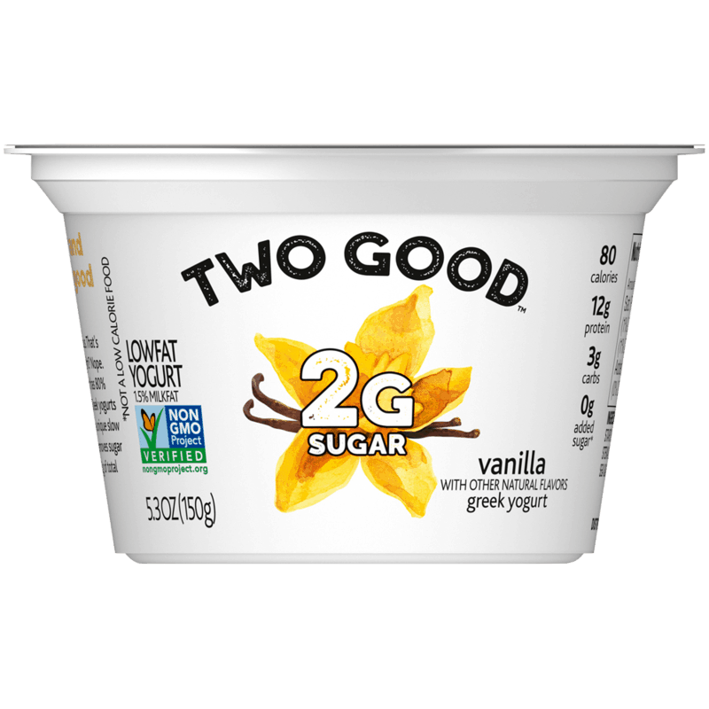 $0.75 for Two Good Greek lowfat yogurt (expiring on Monday, 11/30/2020). Offer available at multiple stores.