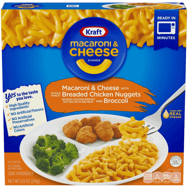 $0.50 for KRAFT® Macaroni & Cheese Frozen Meals (expiring on Monday, 03/02/2020). Offer available at multiple stores.