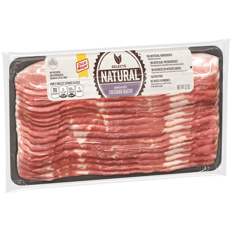 $1.00 for Oscar Mayer Natural Bacon (expiring on Friday, 04/30/2021). Offer available at multiple stores.
