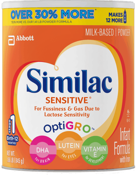 $2.50 for Similac® Infant Formula (expiring on Friday, 09/29/2017). Offer available at Walmart.