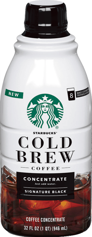 $2.00 for Starbucks Cold Brew Coffee Multi-Serve Concentrate (expiring on Wednesday, 04/15/2020). Offer available at multiple stores.