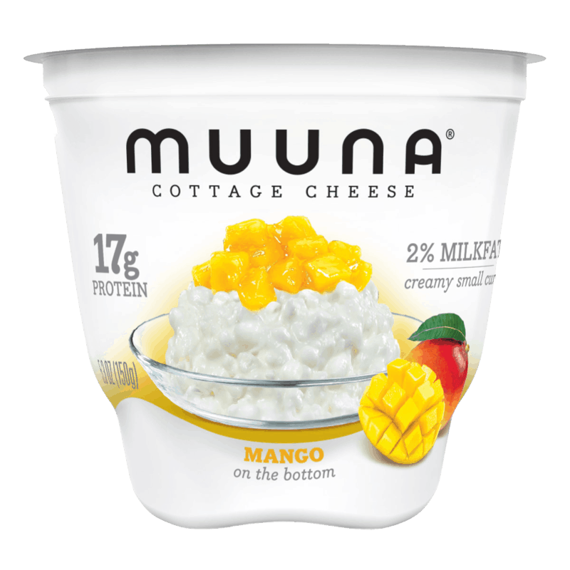 $0.50 for Muuna® Cottage Cheese Mango (expiring on Monday, 09/02/2019). Offer available at Walmart.
