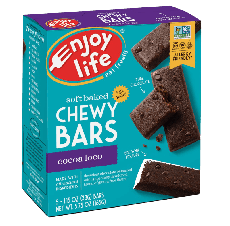 $1.00 for Enjoy Life® Soft-Baked Chewy Bars (expiring on Saturday, 10/31/2020). Offer available at multiple stores.