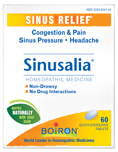 $3.00 for Boiron® Sinusalia® Tablets (expiring on Friday, 01/19/2018). Offer available at CVS Pharmacy.