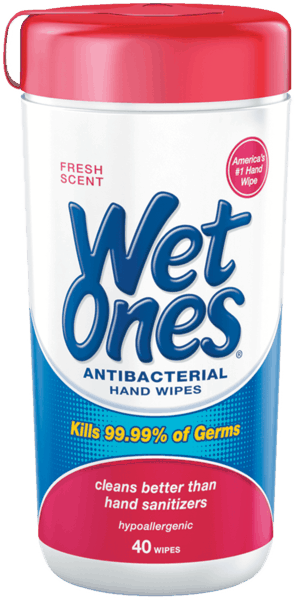 $1.00 for Wet Ones® Hand Wipes (expiring on Monday, 04/30/2018). Offer available at multiple stores.