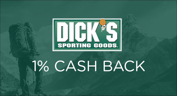 $0.00 for Dick's Sporting Goods (expiring on Sunday, 05/31/2020). Offer available at DicksSportingGoods.com.