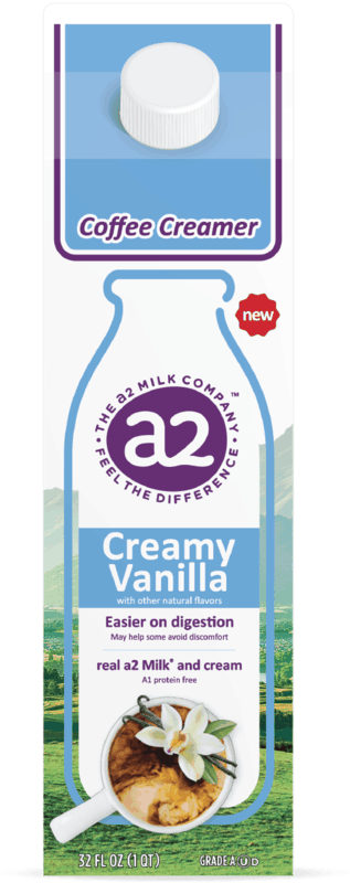 $1.00 for a2 Milk Coffee Creamers (expiring on Thursday, 07/02/2020). Offer available at multiple stores.