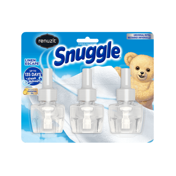 $3.00 for Renuzit® Snuggle® Linen Escape 3 ct. Oil Refills (expiring on Monday, 09/02/2019). Offer available at Walmart.